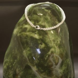 Armband i äkta silvertråd 0.8 mm – Guldsmedens fasa